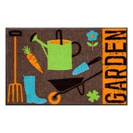 Fußmatte Salonloewe Design Garden Time