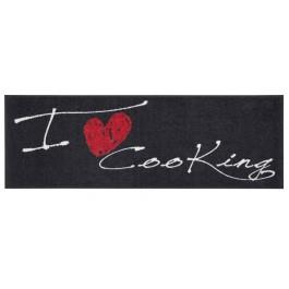 Fußmatte Salonloewe Design I Love Cooking Heart XXL