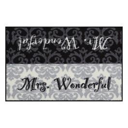 Fußmatte Salonloewe Design Mrs. Wonderful
