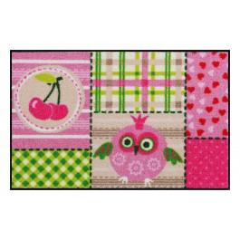Fußmatte Salonloewe Design Pink Cottage 50cm x 75cm