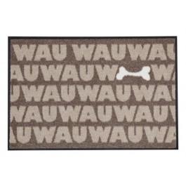 Fußmatte Salonloewe Design WAU Knochen