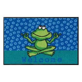 Fußmatte Salonloewe Design Yoga Frosch