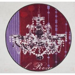 """Fußmatte Salonloewe Anna Flores """"Lüster Royal"""" rund 115 cm"""