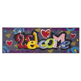 """Fußmatte Salonloewe Design """"Welcome Graffiti"""" XXL"""