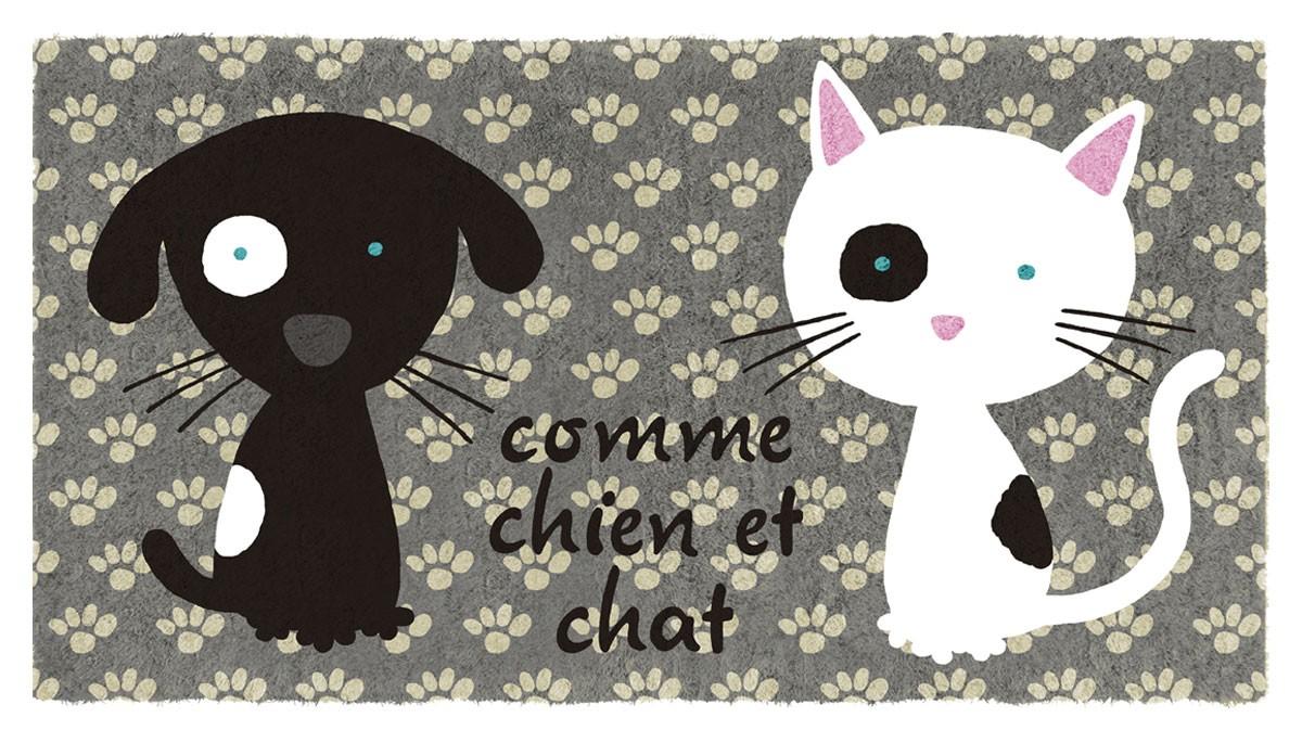 Fussmatte Katzen Hunde Kokos