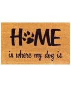 Kokosfußmatte Coco Design Home is my Dog
