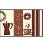 Fußmatte Eurographics Coffee Shop 75 x 120
