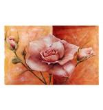 Fußmatte Rose apricot