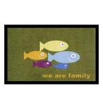 Fußmatte Deco & Wash Family