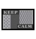 Fußmatte Deco & Wash Keep Calm