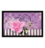 Fußmatte Deco & Wash Pinke Rose