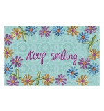 Fußmatte Gallery Keep Smiling