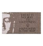 Fußmatte Happiness Kokos