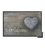 Fußmatte Mondial Welcome Stone Heart