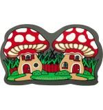 Fußmatte Pilzhäuser