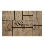 Fußmatte Master Welcome Wood