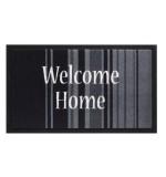 Fußmatte Mondial Welcome Home Stripes