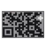 Fußmatte Salonloewe Design Pixel Art