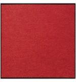 Fußmatte Salonloewe Uni rot quadratisch