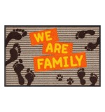 Fußmatte Salonloewe Design We are Family