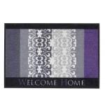 Fußmatte Salonloewe Design Welcome Home Lila