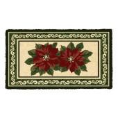Fußmatte Christmas flower Kokos