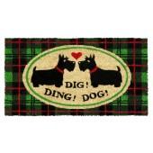 Fußmatte Ding Dog Kokos
