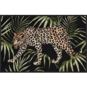 Fußmatte Dschungelleopard
