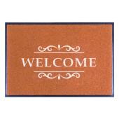Fußmatte Easy Clean Mats Welcome terracotta