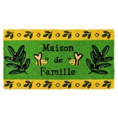 Fußmatte Familienresidenz Kokos