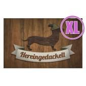 Fußmatte Gallery Hereingedackelt XL