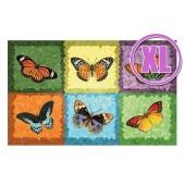Fußmatte Gallery Schmetterlinge Mosaik XL