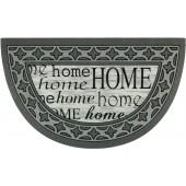 Fußmatte Home Schriftarten