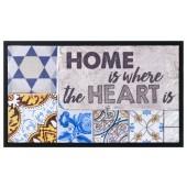Fußmatte Image Tiles Heart