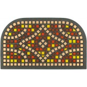 Fußmatte Mosaik marrone