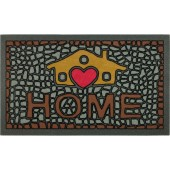 Fußmatte My Home Stone