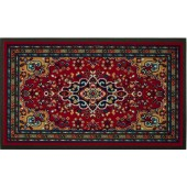 Fußmatte Oriental rot