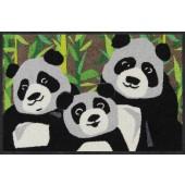 Fußmatte Panda Family