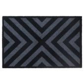 Fußmatte Prestige Cross schwarz
