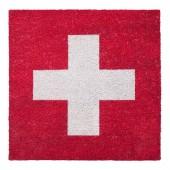 Fußmatte Schweizer Kreuz Kokos