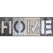 Fußmatte Home Squares XXL