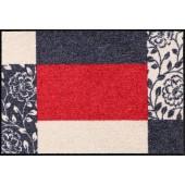 Fußmatte Salonloewe Frame Red S