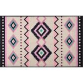 Fußmatte Kelim Stripes Rose XL