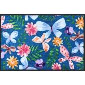Fußmatte Schmetterlingstanz