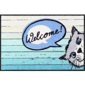 Fußmatte Welcome Cat