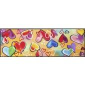 Fußmatte Heartbeat XXL