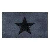 Fußmatte Star Glitzer Kokos