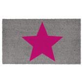 Fußmatte Kokos Big Star Pink