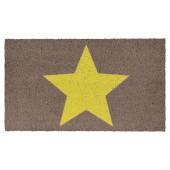 Fußmatte Kokos Big Star Yellow