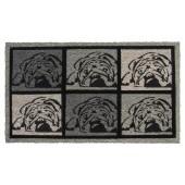 Fußmatte Kokos Bulldog Art